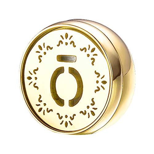 oshhni Grampos Magnéticos de aço Inoxidável Difusor de Fragrâncias E óleos Essenciais para Máscara Facial - Golden a