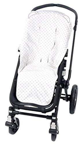 Pasito a pasito 73474 - Funda silla universal para verano, diseño oso, color rosa normandie