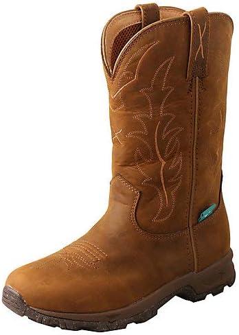 Twisted X Women's Hiker Western Boot Moc Toe