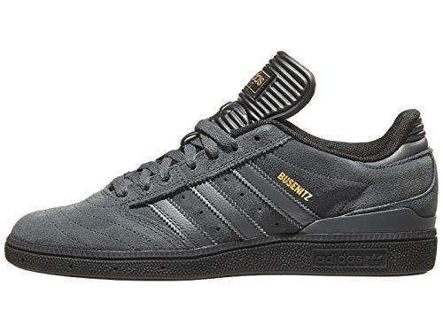 adidas Busenitz Pro, Zapatillas de Skateboard Hombre, Gris (Dgsogr/Cblack/Gold.F Dgsogr/Cblack/Gold.F), 39 1/3 EU