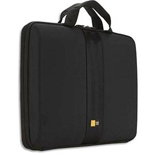 Housse semi rigide avec poignée pour PC portable de 11'' à 13,3'' L35,8 x H27,5 x P3,5 cm noir