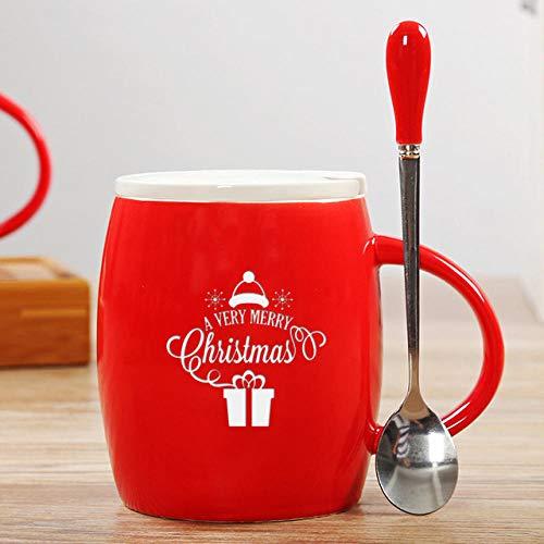 lookmoon Tasse Mugs Tassen Startseite Keramik Cartoon Weihnachten Kind Geschenk kleine Tasse Santa Schneemann Mousse Cup Elch Weihnachten Stiefel Drink Cups