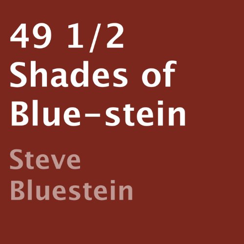49 1/2 Shades of Blue-stein audiobook cover art
