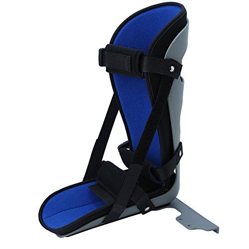 Férula para pies nocturnos, fascitis plantar Férula para piernas Soporte suave para la abrazadera de la pierna - Ortopédico Inmovilizador para dormir Estiramiento de la bota para espolón (METRO)