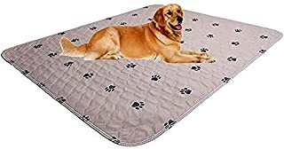 SincoPet Reusable Pee Pad + Free Puppy Grooming Gloves/Quilted, Fast Absorbing Machine Washable Dog Whelping Pad/Waterproo...