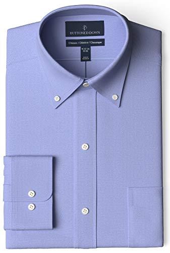Marca Amazon – BUTTONED DOWN – Camisa de vestir de tejid