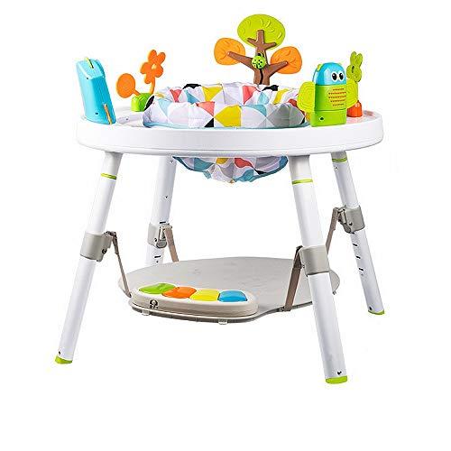 NEHARO Lauflernhilfen Exersacer Bounce 3-in-1-Aktivität Walker-Sitz-oder Walk-Behind-Position Einfach zu Falten Spaß Spielzeug & Aktivitäten für Baby Perfekt für alle Spiel- und Standphasen