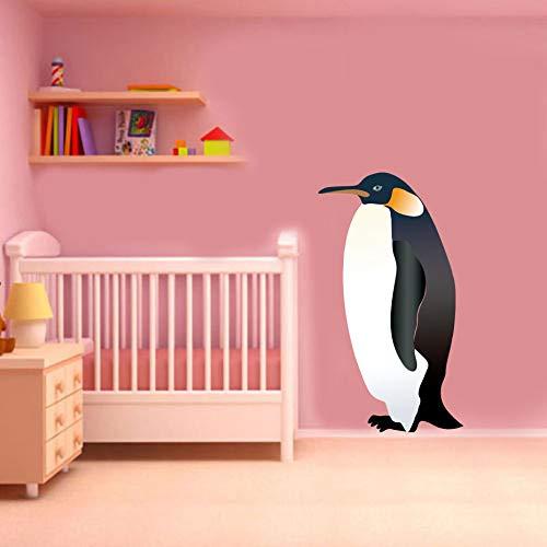 JXAA Penguin dierlijke kleur muurstickers kinderkamer kleuterschool afneembare waterdichte muur kunst sticker behang poster huisdecoratie 25x45cm