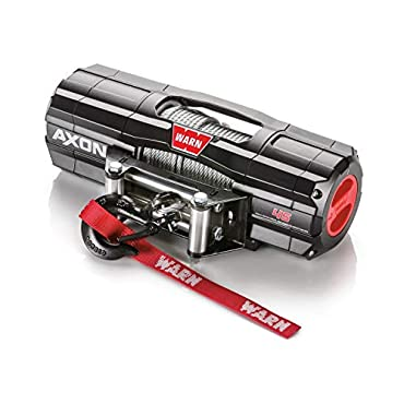 WARN 101145 AXON 45 Powersports Winch with Steel Rope 4,500 lbs. Capacity