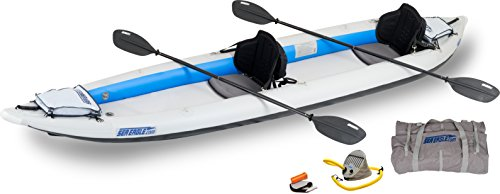 Sea Eagle 465FT Fasttrack Inflatable Kayak Two Person Pro Package