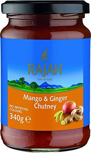 Rajah Mango plus Ingwer Chutney, 2er Pack (2 x 340 g)