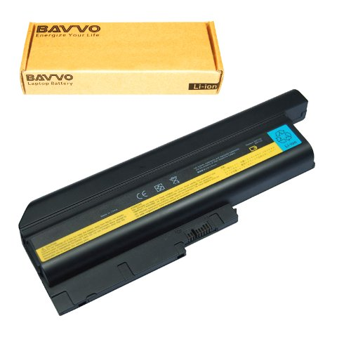 Bavvo 9-Cell Battery Compatible with Thinkpad 41++ 40Y6797 T60 T61 R60 R61 R500 W500 T500.