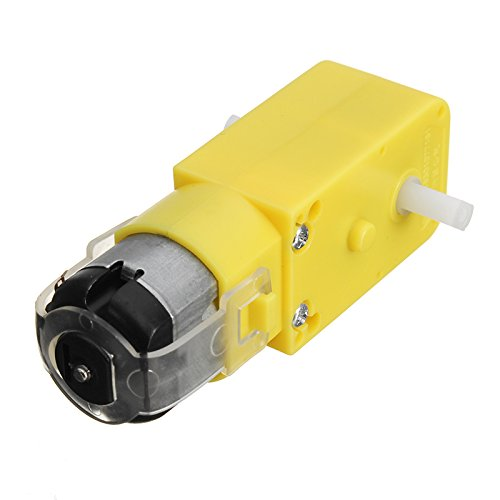 HALJIA N30 DC 3V 50RPM Micro Speed Reduction Motor Mini Gear Box with 2 Terminals for RC Car Robot Model DIY Engine Toy