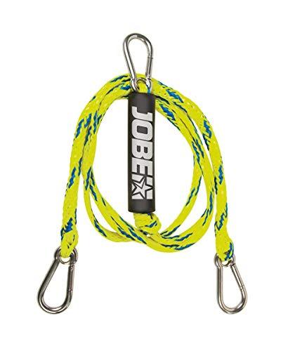 Jobe Schleppdreieck Ohne Pulley 8ft 2P Cuerda para esquí acuático, Unisex Adulto, Multicolor, Talla única
