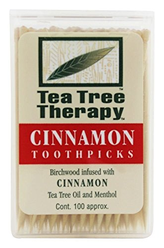 Tea Tree Therapy Cinnamon Toothpicks 1x100 CT