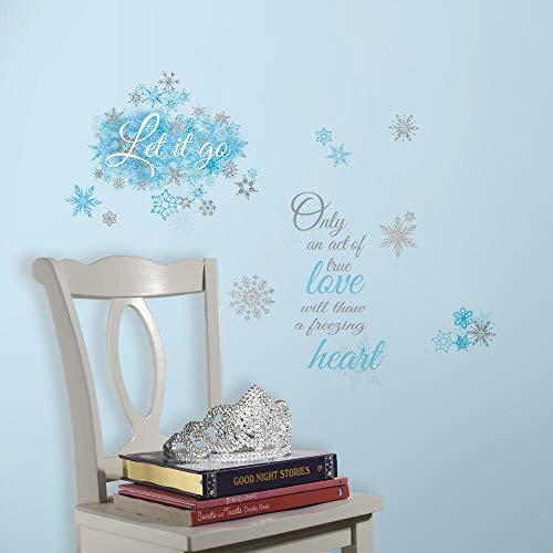 RoomMates Disney's La Reine des neiges Let It Go Sticker Mural