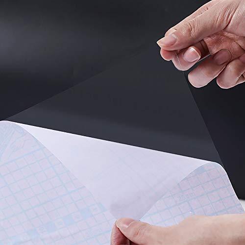 Hode Transparent Möbelfolie Selbstklebende 30cmX3m Wasserdicht Klebefolie Möbel Spritzschutz Buchschutz Dekofolie Vinylfolie Badezimmer Küche Aufkleber PVC