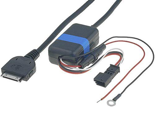 Cable Adaptateur AUX iPod iPhone compatible avec BMW 3 5 7 X5 Navigation usine