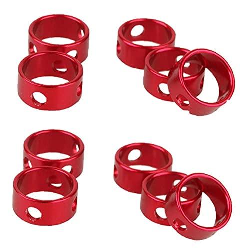 Tensoras De Cuerda Ajustador De Aleación De Aleación De Aluminio Ajustador De Tiendas De Viento a Prueba De Viento Ajuste De La Hebilla 10pcs