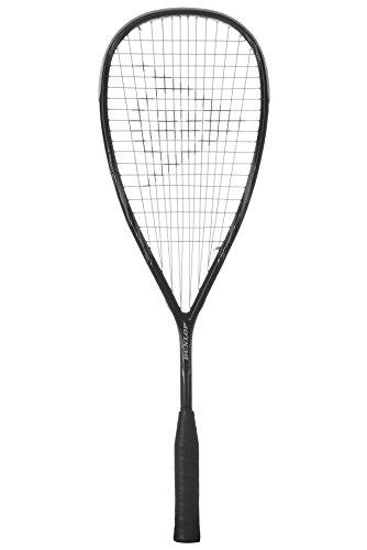 Raquete de Squash Dunlop Blackstorm 4D Titanium HL-Preto / Cinza-R1