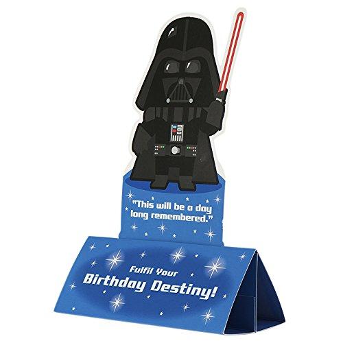 Hallmark Geburtstagskarte Star Wars Luke Skywalker (in englischer Sprache), Gr. M, quadratisch, M