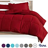 Bare Home Comforter Set - Queen Size - Goose Down Alternative -...