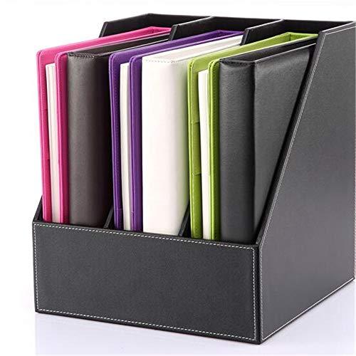 OTENGD Organizador de Almacenamiento de contenedores de Carpetas de Archivos, Cuadernos Verticales, Carpetas, Sobres, Contenedores de revistas, para oficinas domésticas y escritorios de Trabajo