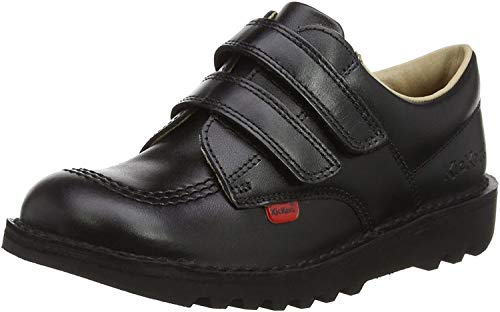 Kickers 1-KF0000435BTW - Zapatos para niños y adolescentes, color negro (Black), talla 32 (13 UK)