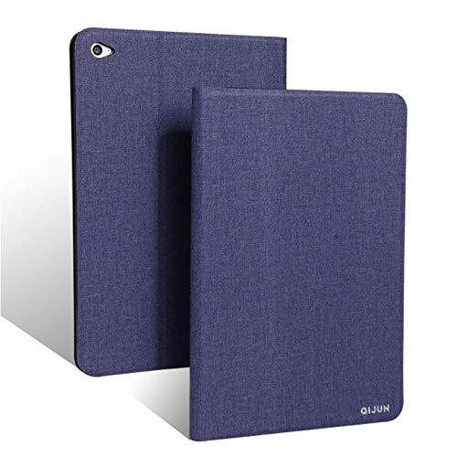 qq666 Für Asus Zenpad S 8.0 Hülle Z580 Z580C QIJUN Tablet Hülle für ZenpadS 8 Z580CA 8.0Slim Flip Cover WeicheSchutzhülle-Blau
