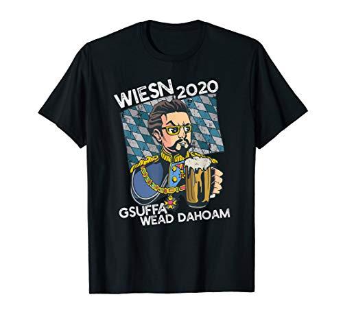 Wiesn 2020 Oktoberfest 2020 Gesoffen wird zuhause T-Shirt