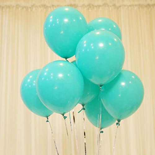 WZRQQ 50st mintgroen blauw balloons of wit latex balloon huwelijksfeestje decoratie kinderfeestjes babyshower peach balls