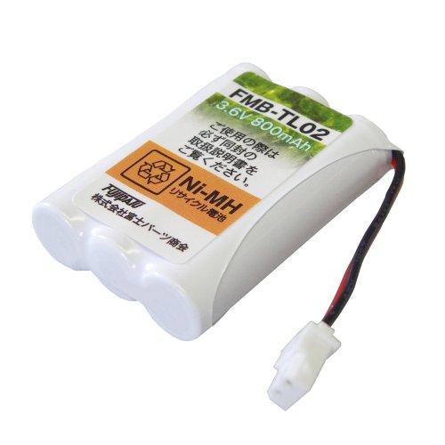 富士パーツ NTT コードレスホン子機用充電池 CT-062 同等品
