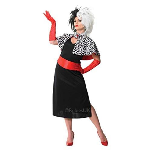 Rubie'ss – Carnival Costume Cruella de la película de Disney 101 Dálmatas