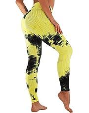 Tiktok Leggings UK Womens scrunch Bums Leggings hoge taille yoga broek honeysculpt workout running panty