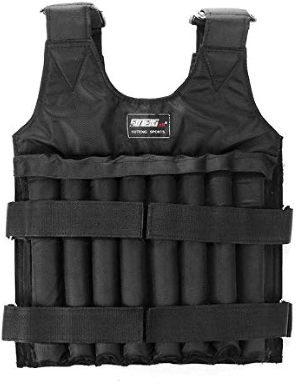 FishingAccessories  20kg 50kg Loading Weighted Vest for Boxing Training Workout Fitness Equipment Adjustable Waistcoat Jacket Sand Clothi