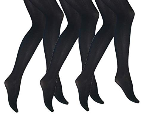 3 pack - Iris panty - 60 Denier - zwart