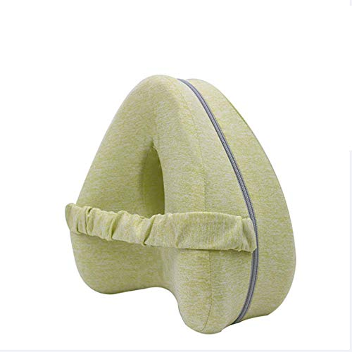 LiHong Memory Foam Kneeling Pads Elastic Support Leg Support Pillows for Pregnancy Side Sleepers Sciatica Hip Joint Pain