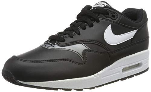Nike Damen WMNS Air Max 1 Leichtathletikschuhe, Schwarz (Black/White 000), 37.5 EU