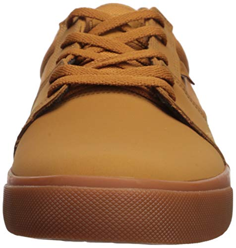 DC Men's Tonik Skate Shoe, Brown/Gum, 13 M US