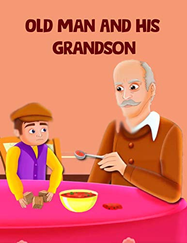 Couverture du livre Old Man And His Grandson: English Cartoon | Moral Stories For Kids | Classic Stories (English Edition)