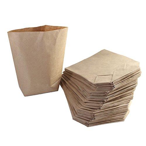 BODA Kraftpapierbeutel ca. 14,5 x 21,5 cm Papiertüte, 50 Stück