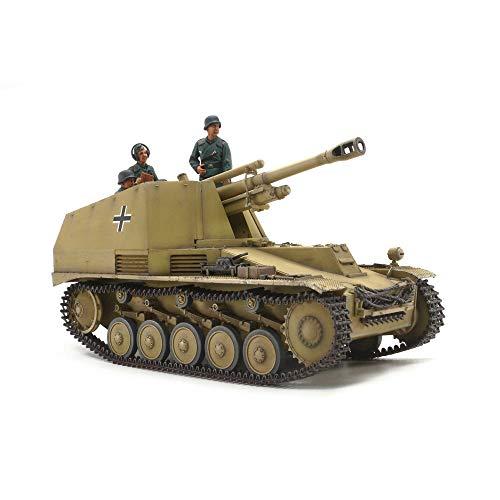 TAMIYA 35358 - 1:35 pantserhaubitz wespe Italië. Front, modelbouw, plastic bouwpakket, hobby, knutselen, lijmen, modelbouwpakket, model, monteren