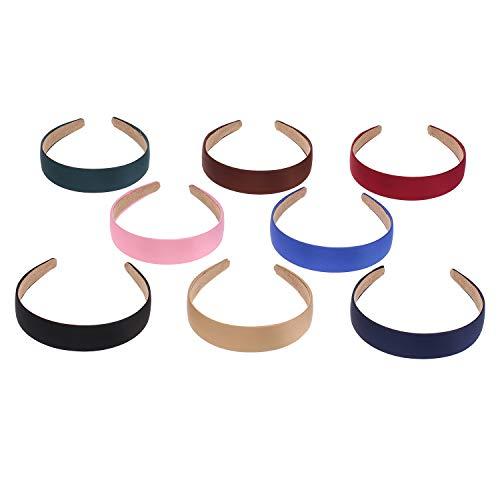 15 harde hoofdbanden, brede haarbanden, hoofdwikkels voor vrouwen en meisjes, haarstyling-accessoires.