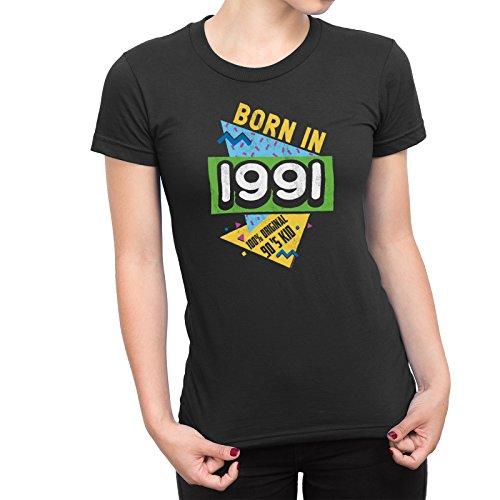 27th Anniversaire T-shirt né en 1991 Homme Cadeau Âge-Aged To Perfection