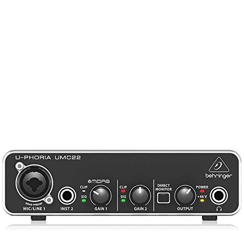 Behringer ZB791 UMC22 Audiophile Bild