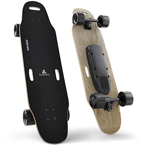 Elwing Boards - Skateboard Électrique Modulable - Powerkit Halokee Sport - Moteur Simple 32Km/h - Batterie Standard 15 Km - IP65 Étanche Eau et Poussière - Conçu en France