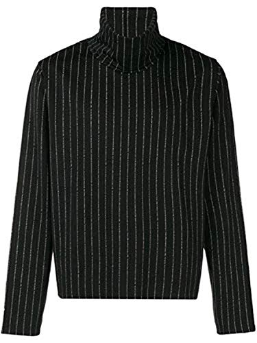 Reebok RCxPM Printed Turtle Neck Sweat-Shirts Homme Noir M
