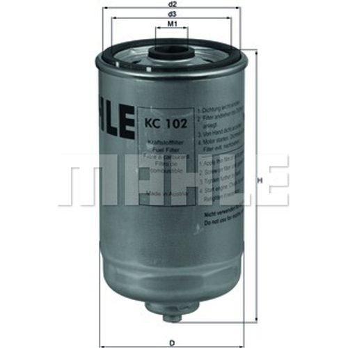 knecht KC 102Filtro de combustible