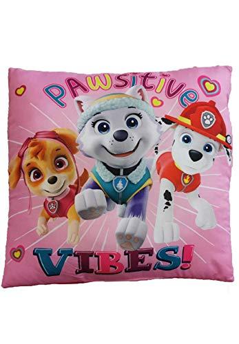 Nickelodeons Paw Patrol Skye, Everest und Marshall Kinder Kuschel-Kissen Deko-Kissen 40 x 40 cm