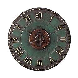 Sterling Industries 128-1004 Metal Roman Numeral Outdoor Wall Clock. - Best Price Most Popular New Brand Great Reviews Low Priced Big Savings Gift Present Men Women Kids Trendi